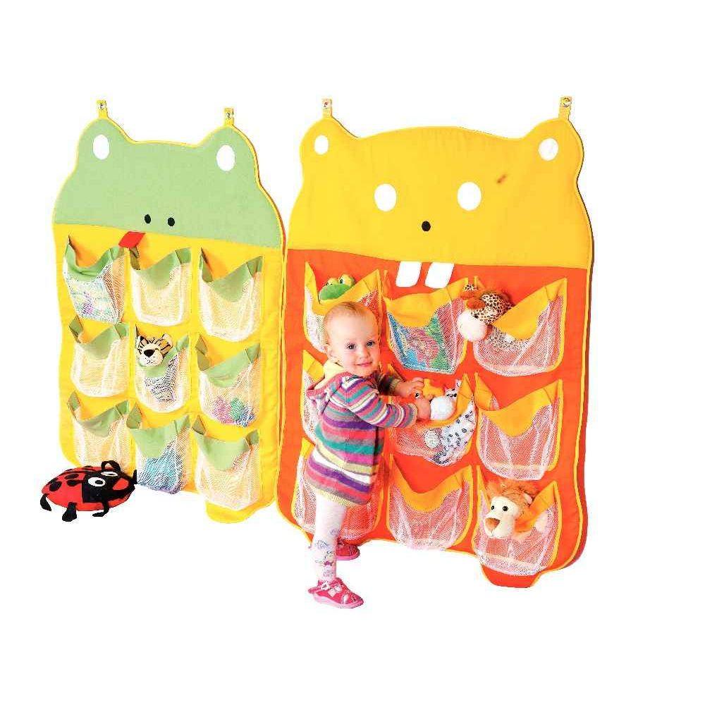 range doudou 9 poches la grenouille nowa szkola meuble de rangement sur planet eveil. Black Bedroom Furniture Sets. Home Design Ideas