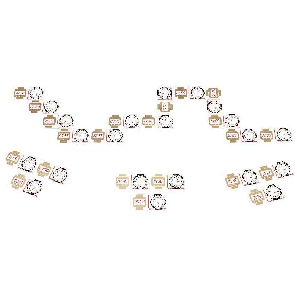 promotion Domino des heures - 0 à 24 heures