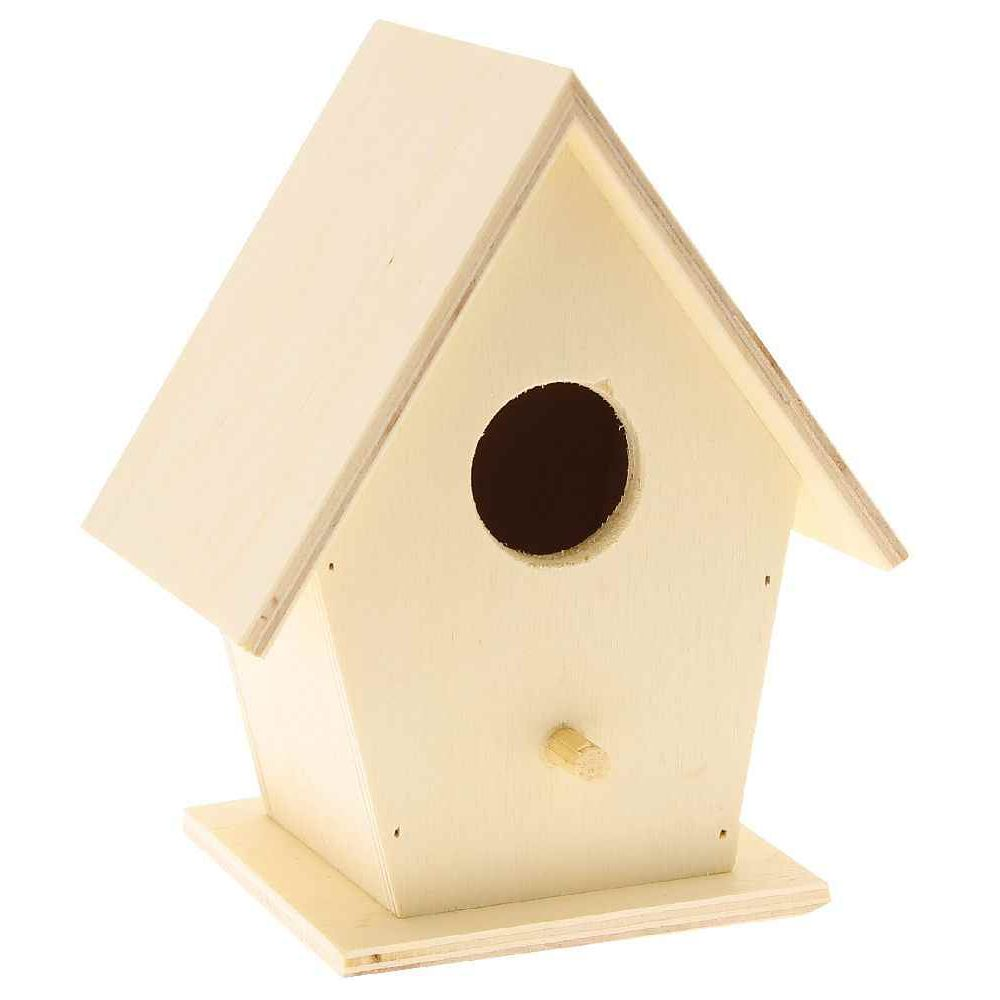 nichoirs oiseau en bois d corer lot de 5 objets en. Black Bedroom Furniture Sets. Home Design Ideas