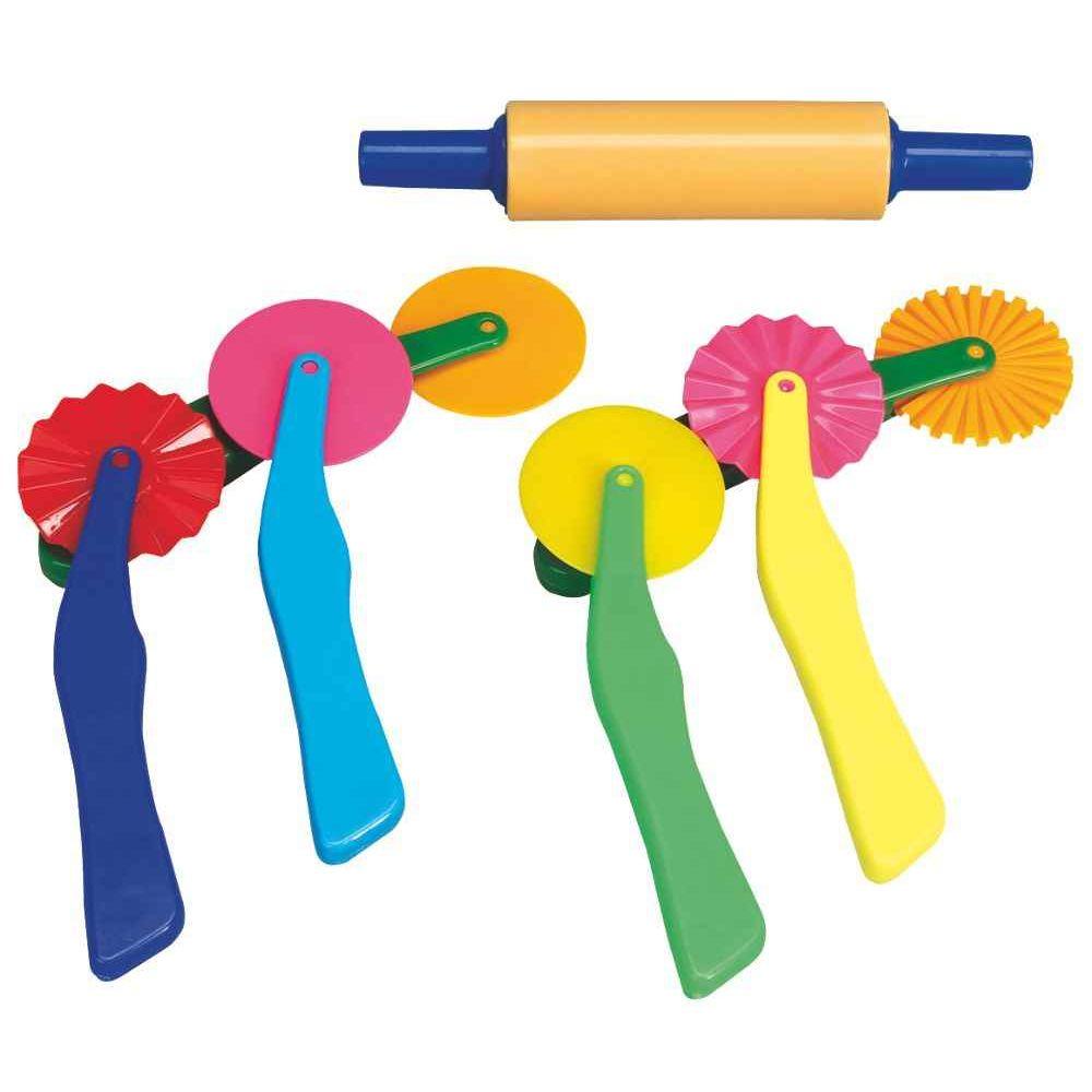 Roulettes pour p te modeler lot de 6 accessoires for Six accessoires