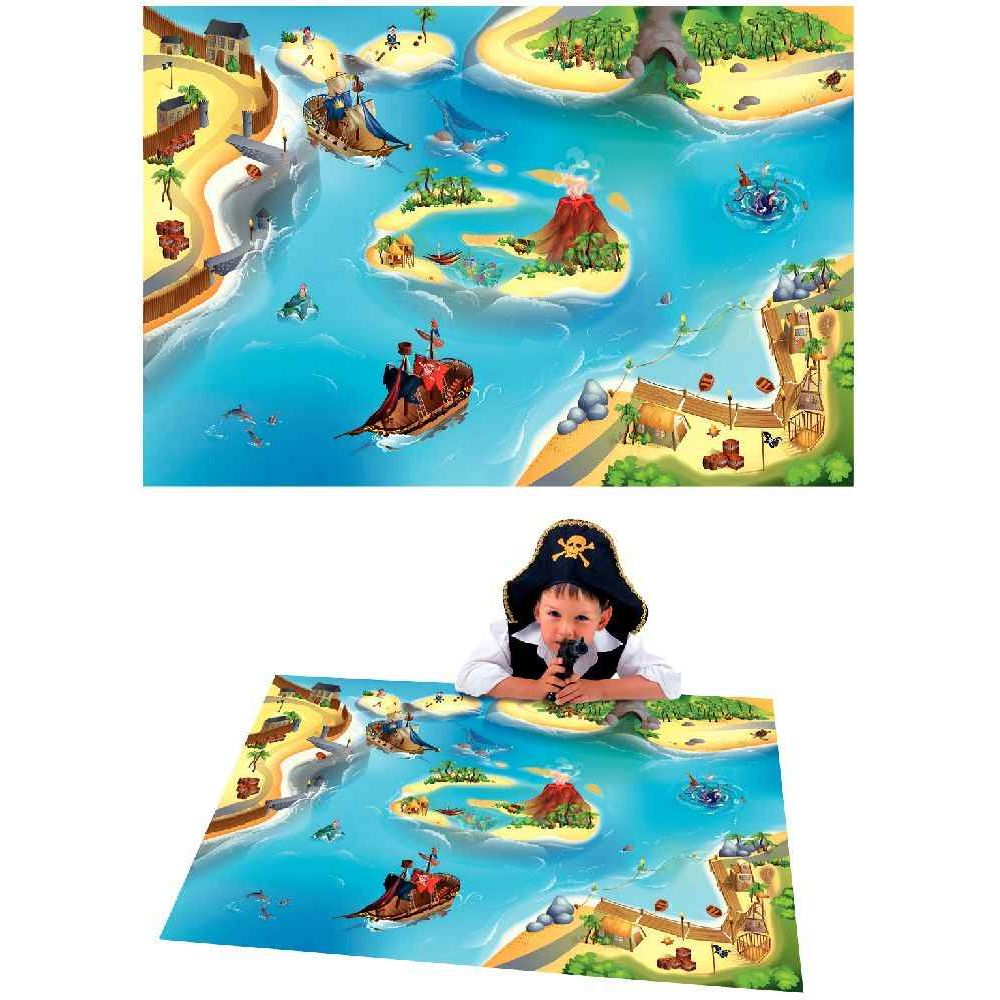tapis de jeu g ant les pirates house of kids tapis de jeux sur planet eveil. Black Bedroom Furniture Sets. Home Design Ideas