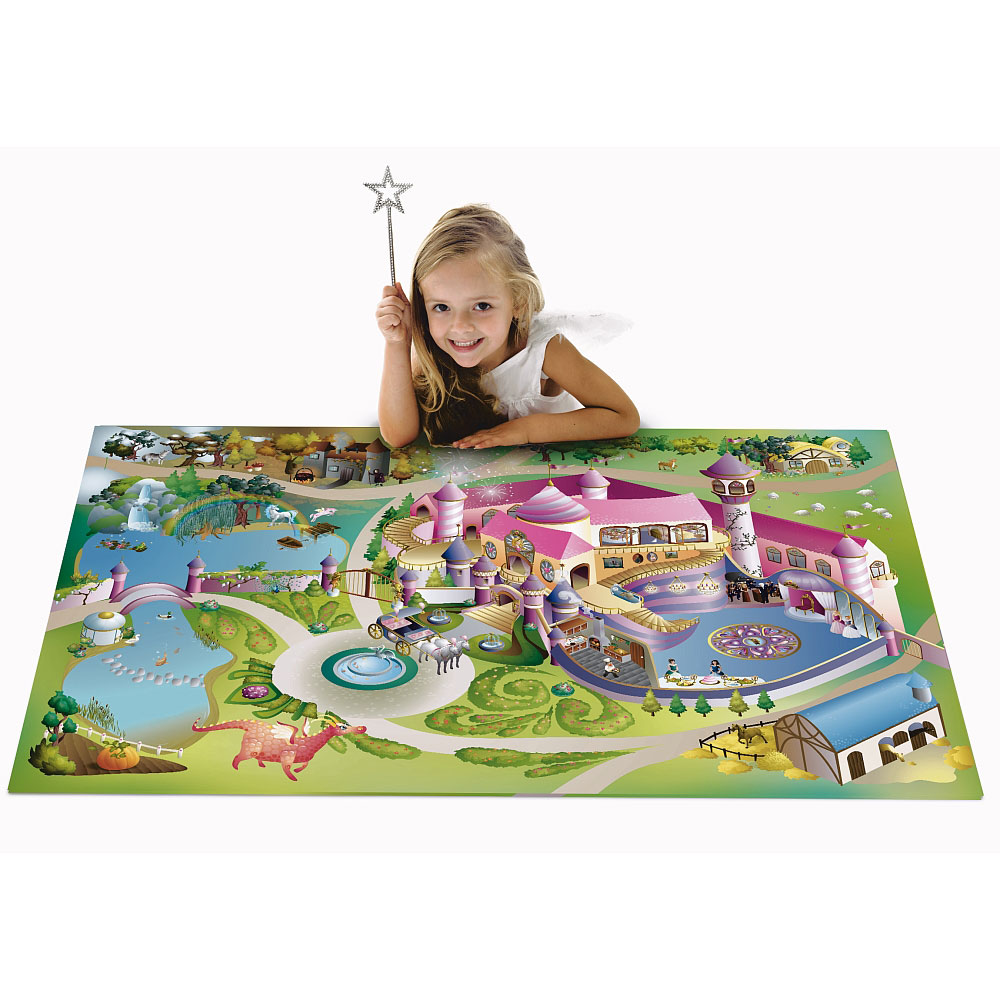 tapis de jeu g ant princesse house of kids tapis de jeu sur planet eveil. Black Bedroom Furniture Sets. Home Design Ideas
