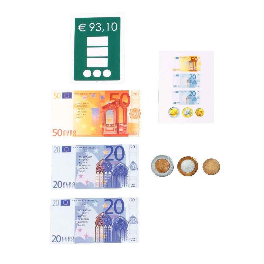 Carte exercice monnaie - Niveau 2