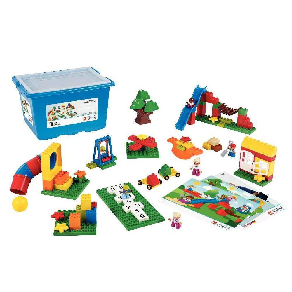 le jardin d 39 enfants bo te de 104 pi ces lego duplo jeux de construction sur planet eveil. Black Bedroom Furniture Sets. Home Design Ideas