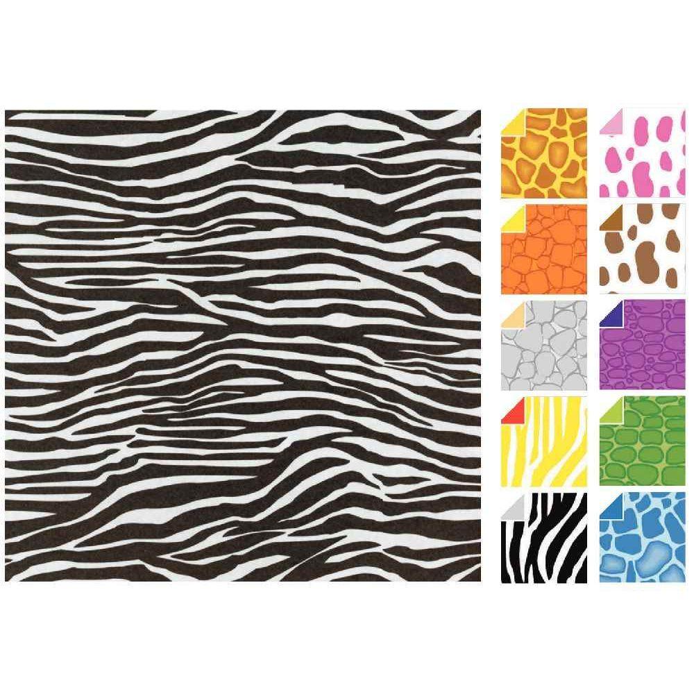 papier origami animaux 15x15 cm pochette de 20 feuilles oz international papiers pliage. Black Bedroom Furniture Sets. Home Design Ideas