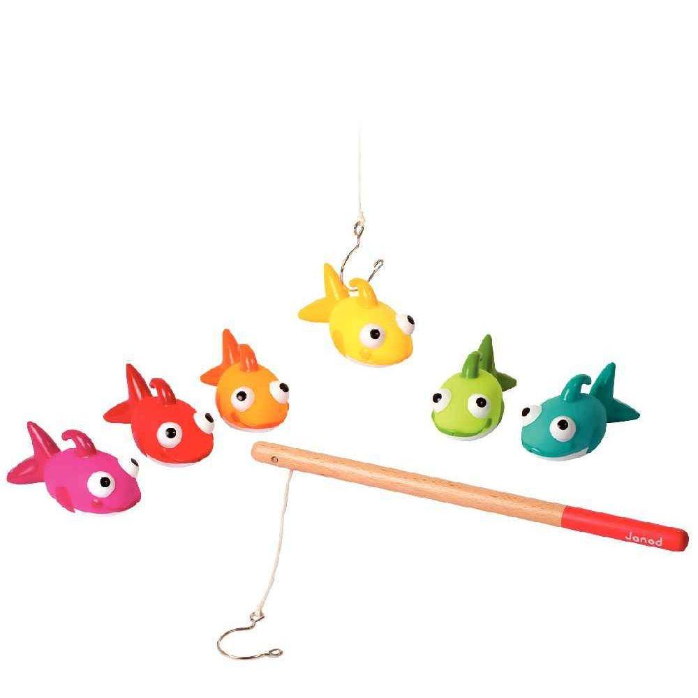 Fishy - La pêche aux poissons et ses 2 cannes