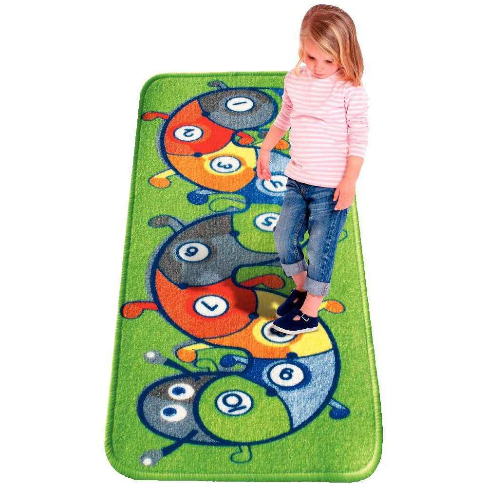 tapis de jeu marelle la chenille house of kids tapis de jeu sur planet eveil. Black Bedroom Furniture Sets. Home Design Ideas