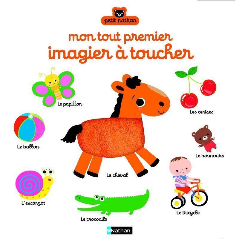 mon tout premier imagier toucher nathan livres pour enfants sur planet eveil. Black Bedroom Furniture Sets. Home Design Ideas