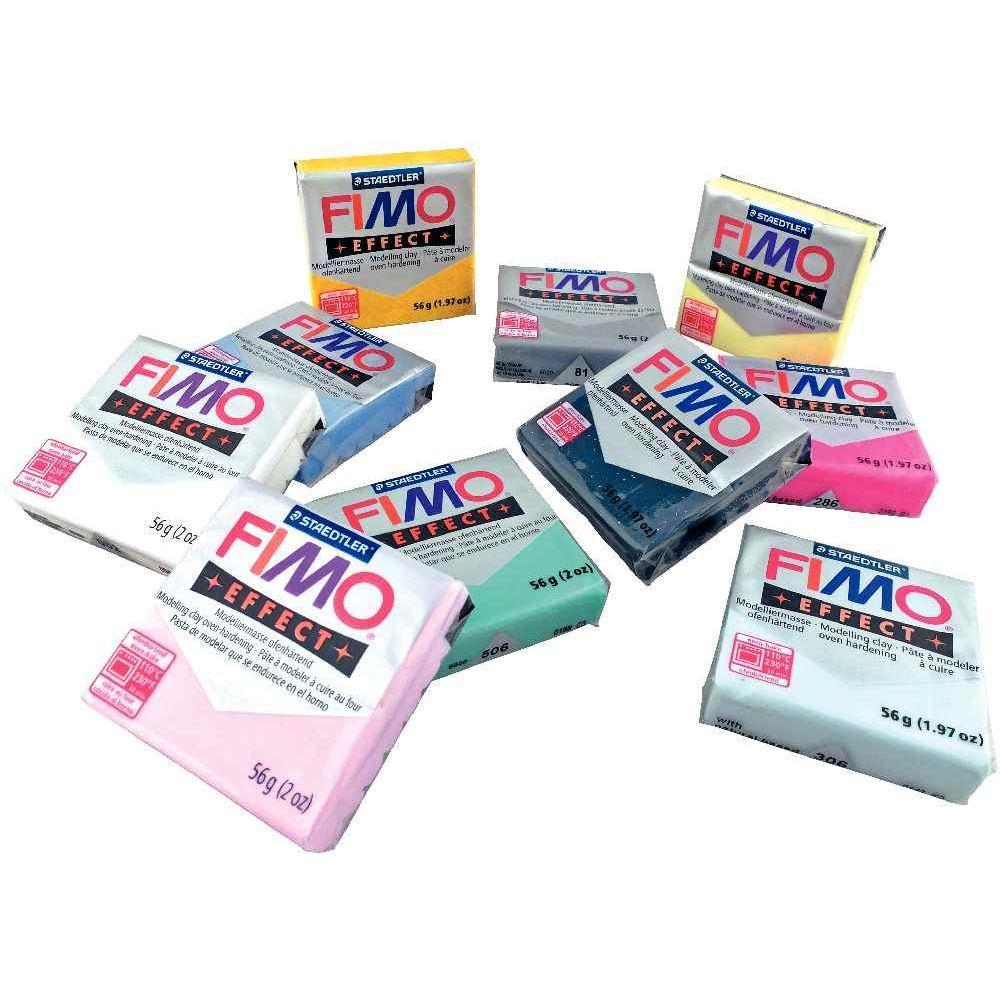 Pâte à modeler FIMO SOFT - Lachet de 10 blocs de 56g