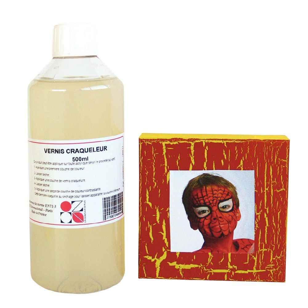 Vernis craqueleur - Flacon de 500 ml