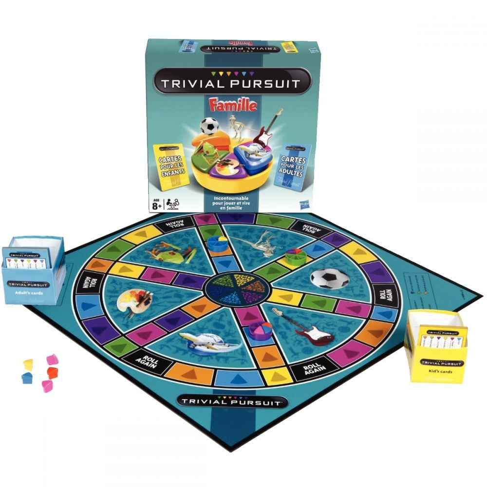 jeu de soci t trivial pursuit famille hasbro jeux de. Black Bedroom Furniture Sets. Home Design Ideas