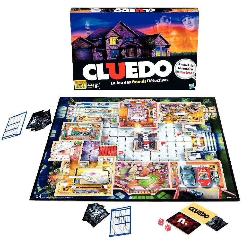 Jeu de société Cluedo - Le jeu des grands détectives