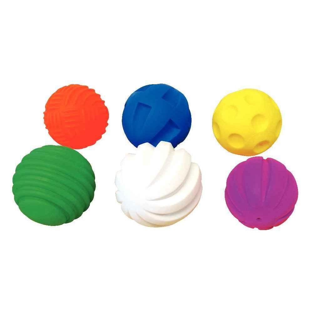 Balles tactiles - Sachet de 6