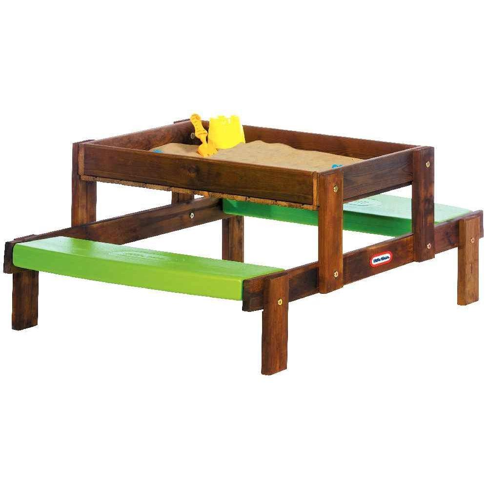 table de pique nique bac sable 2 en 1 little tikes maisons tables sur planet eveil. Black Bedroom Furniture Sets. Home Design Ideas