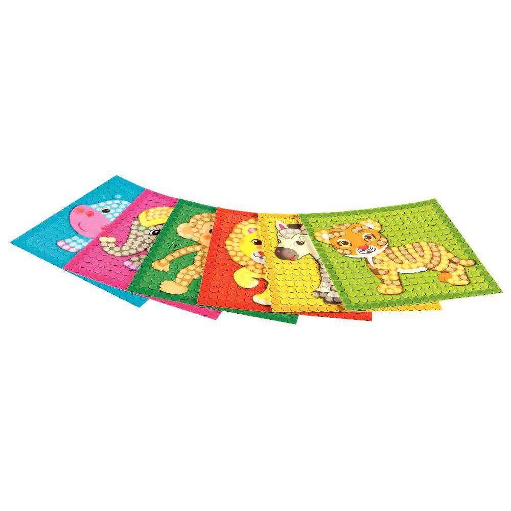 PlayMais Mosaic - Set de 30 cartes à décorer