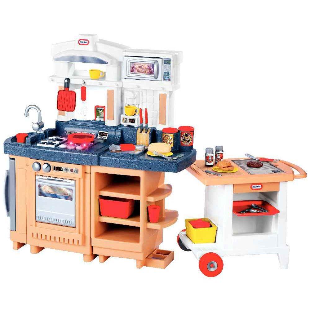 maxi cuisine cook 39 n go 2 en 1 little tikes meubles de cuisine sur planet eveil. Black Bedroom Furniture Sets. Home Design Ideas
