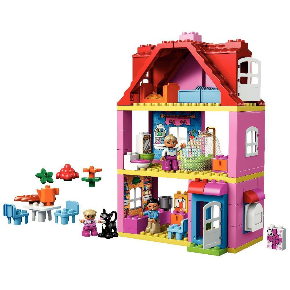 la maison duplo compos e de 83 pi ces lego duplo jeux de construction sur planet eveil. Black Bedroom Furniture Sets. Home Design Ideas