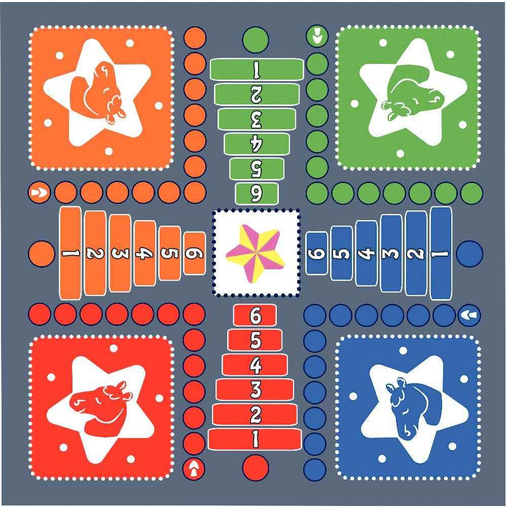 Tapis 3mx3m du jeu du dada
