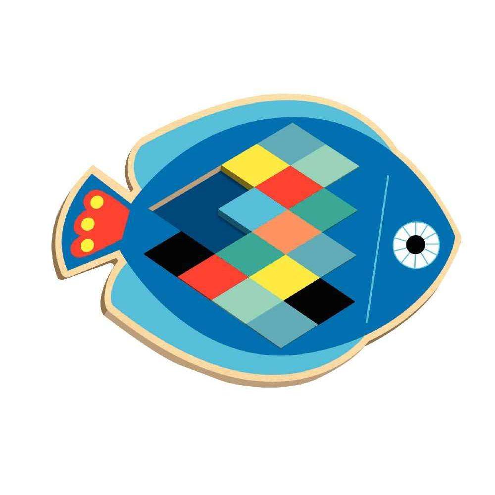 Djeco - Mosaïque poisson