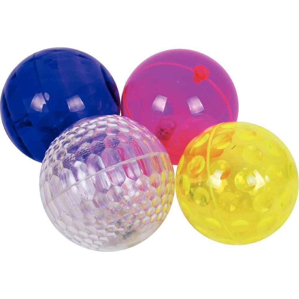 Balles lumineuses - Diamètre 10 cm - Carton de 4