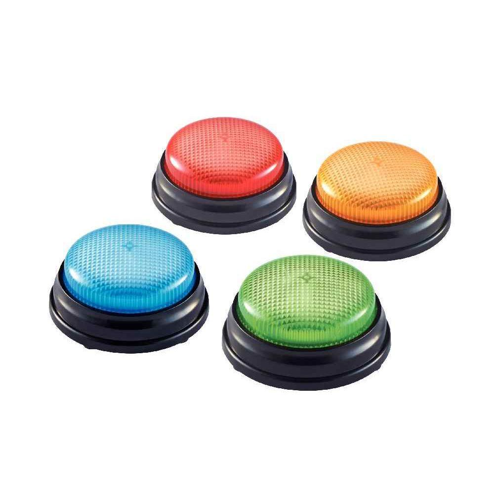 Boîte de 4 buzzers lumineux
