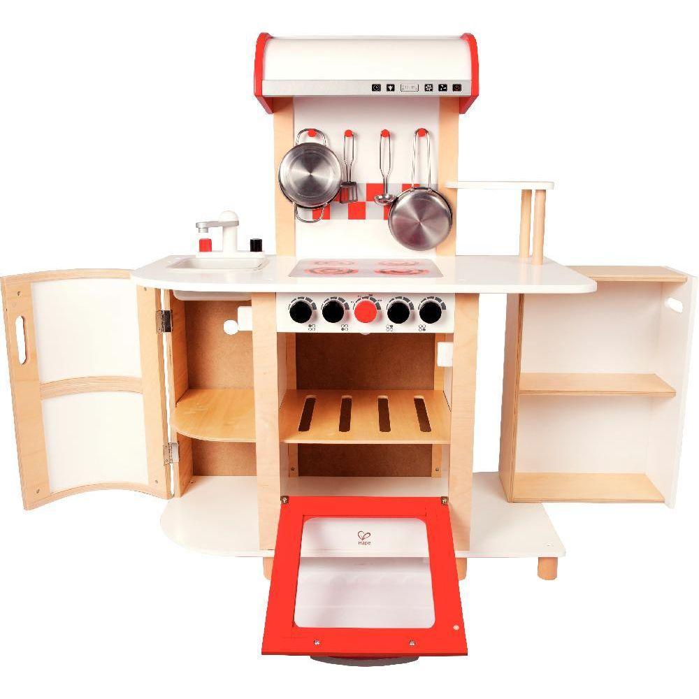 Cuisine multifonctions en bois hape meubles de cuisine for Cuisine hape