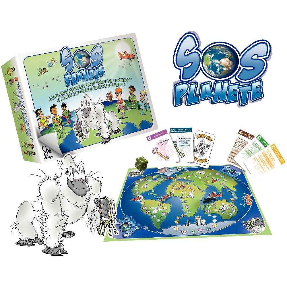 Jeu de société SOS planète