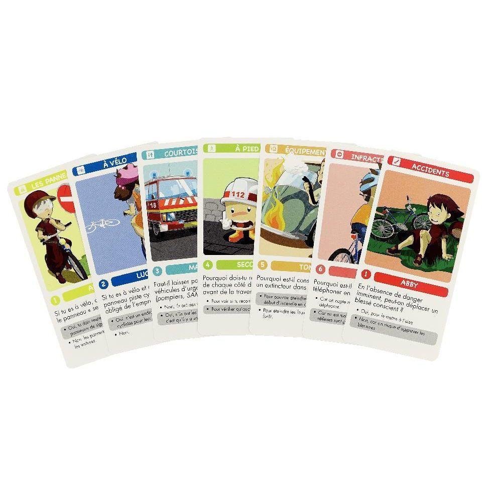 jeu de 7 familles secoury la s curit routi re jeux de cartes sur planet eveil. Black Bedroom Furniture Sets. Home Design Ideas