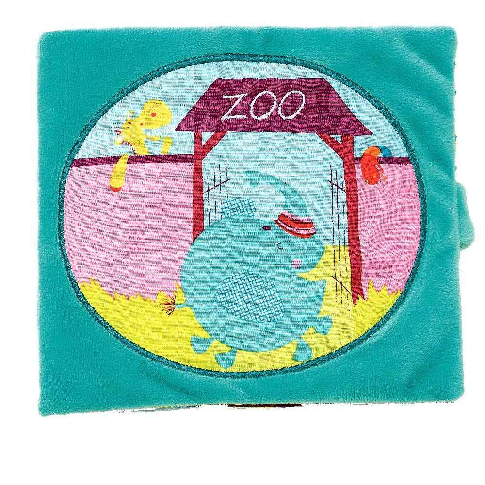 Livre en tissu Albert au Zoo\