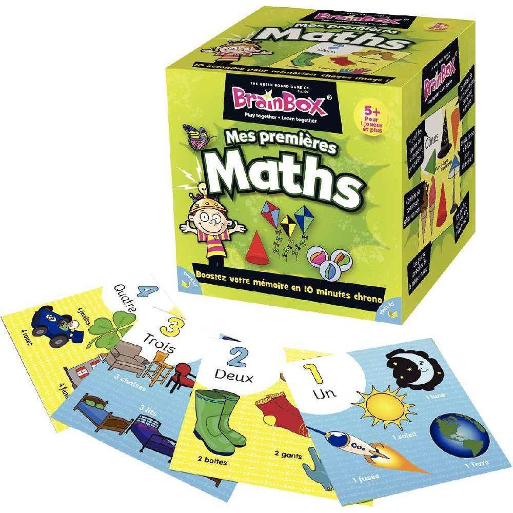 Asmodee - Jeu de société - Brainbox - Mes premiers maths
