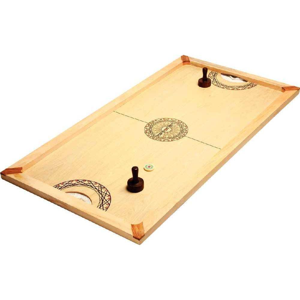 Asmodee - Jeu de société - Le jeu du palet sur table 130x70cm