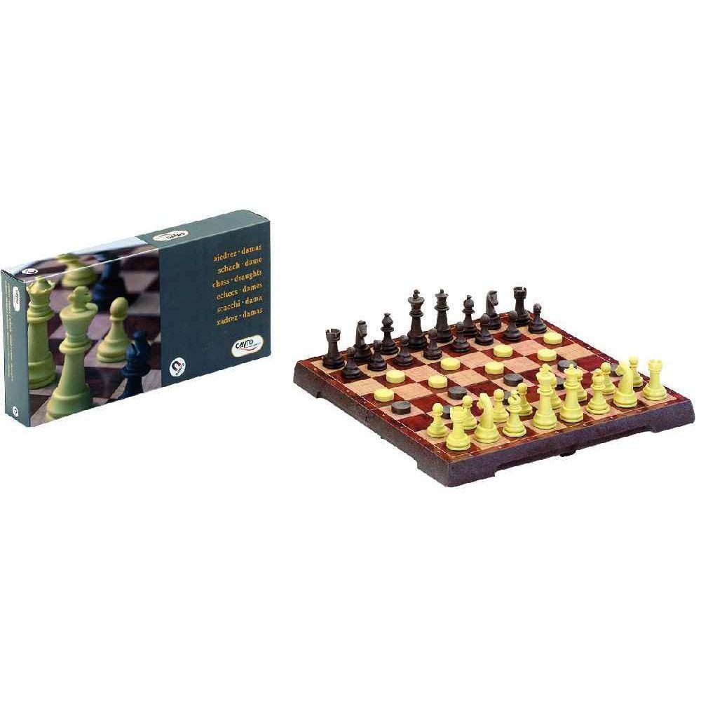 Jeux d'échecs et de dames magnétiques