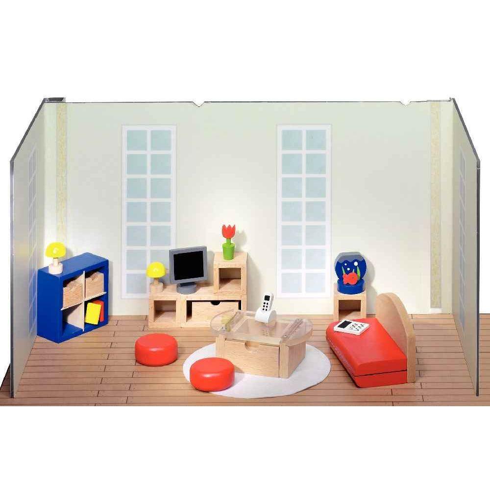 Salon pour maison de poupées