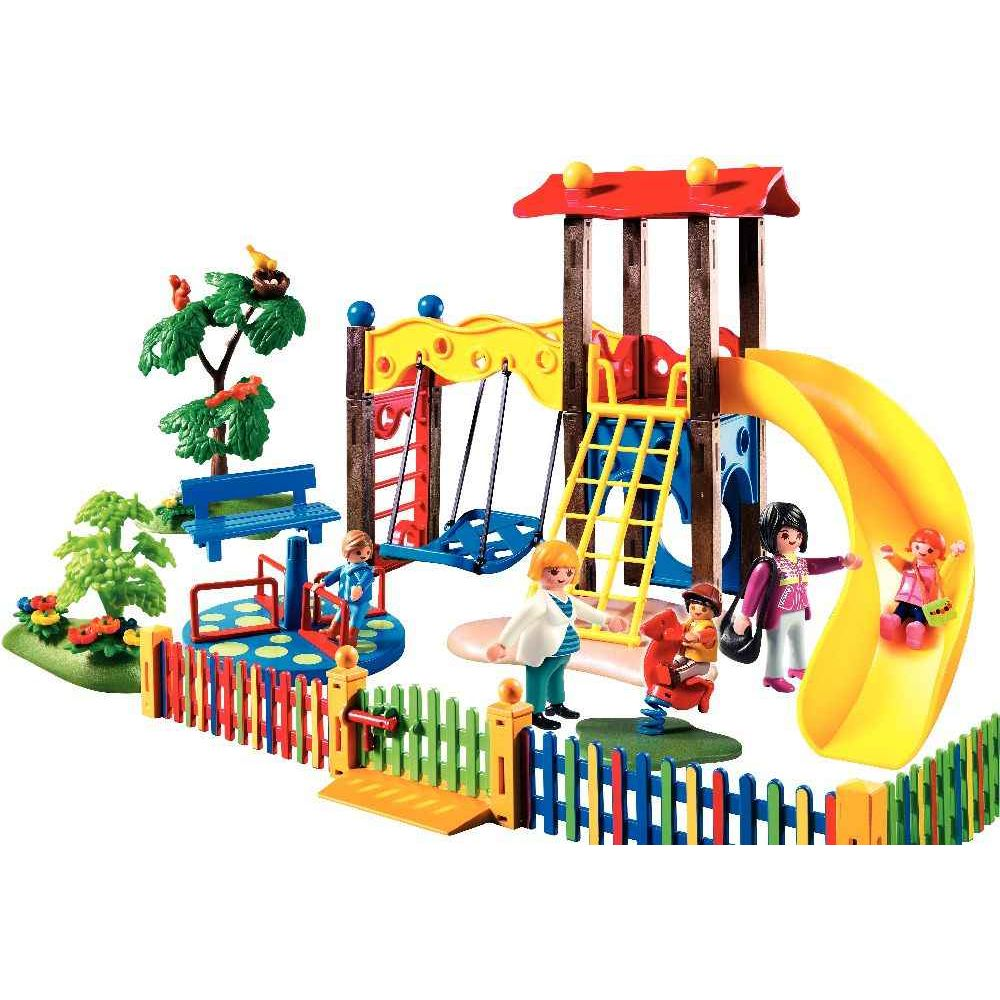 Square pour enfants avec jeux