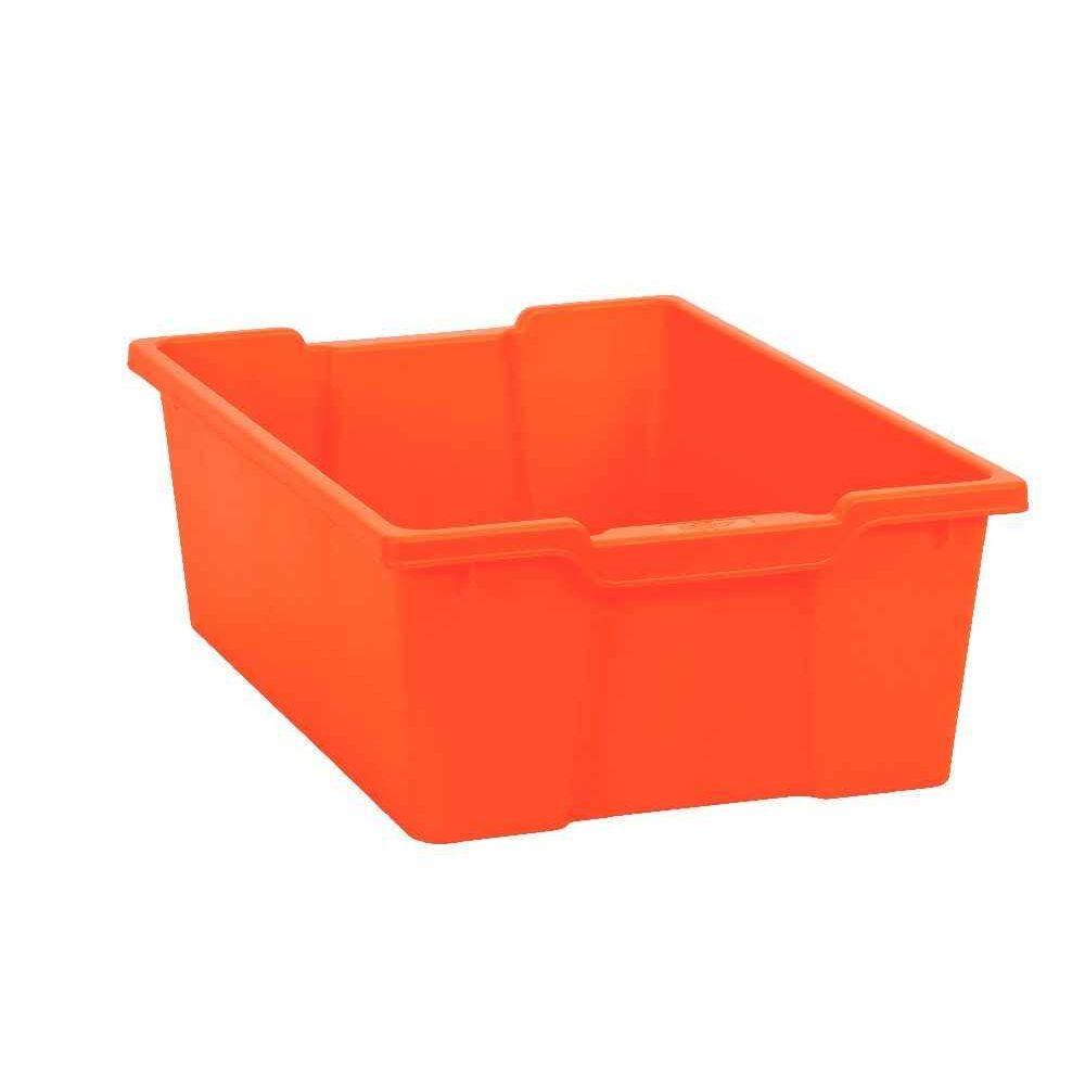 bac en plastique grand mod le orange case et bac de. Black Bedroom Furniture Sets. Home Design Ideas
