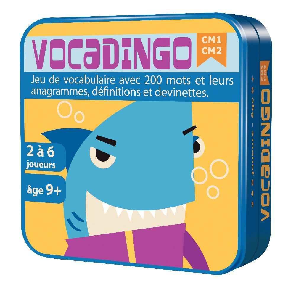 Asmodee - Jeu de société - Vocadingo CM1 / CM2