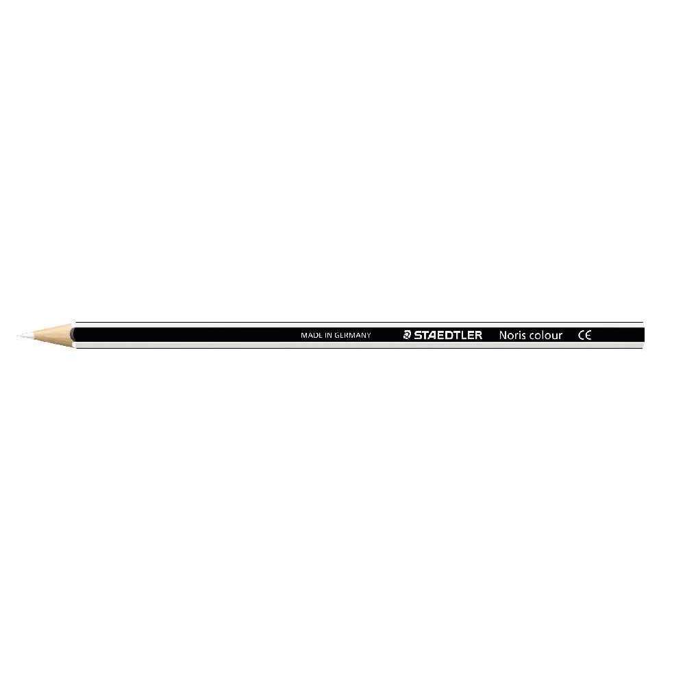 Crayons de couleur NORIS Colour blanc - Etui de 12