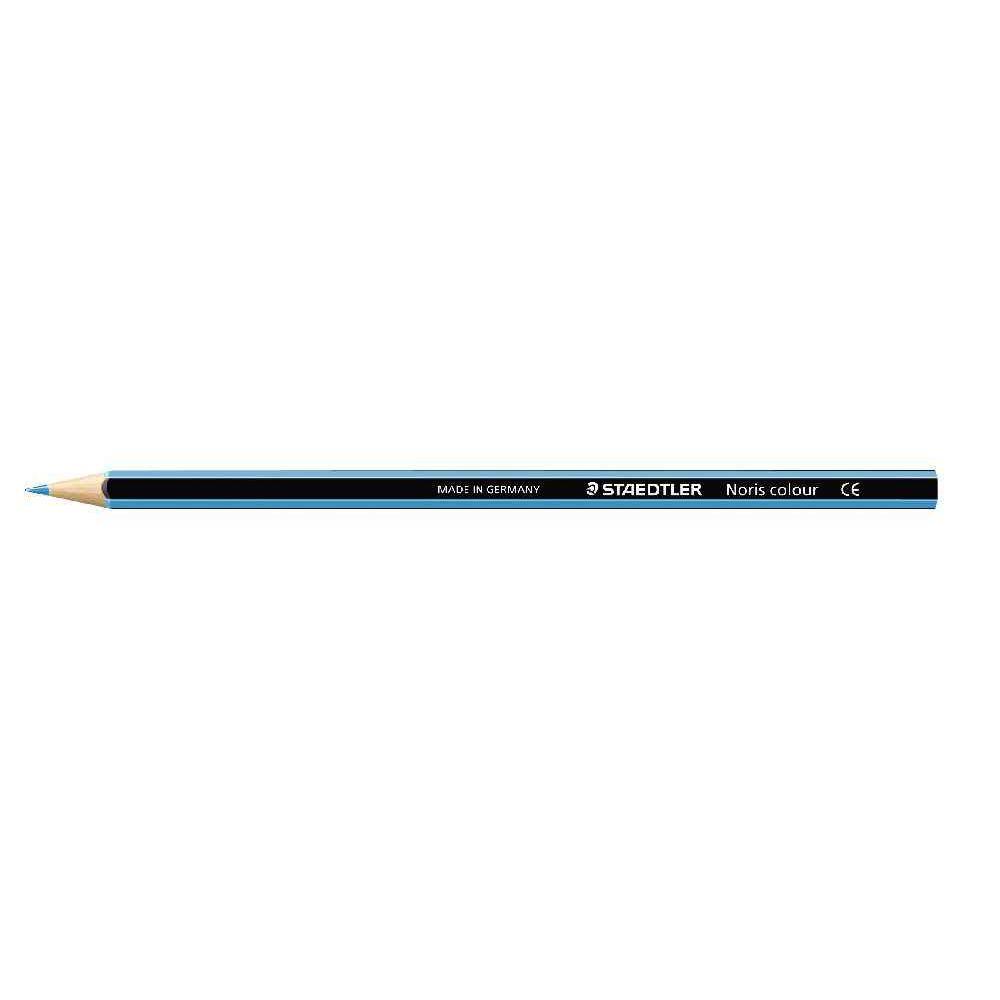 Crayons de couleur NORIS Colour bleu clair - Etui de 12