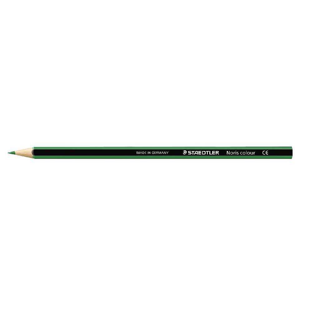 Crayons de couleur NORIS Colour vert foncé - Etui de 12