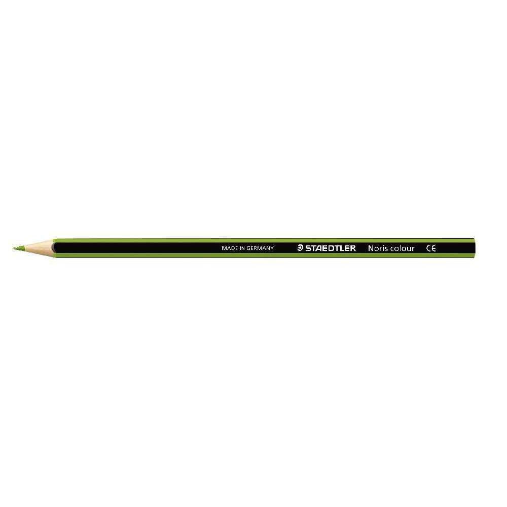 Crayons de couleur NORIS Colour vert clair - Etui de 12