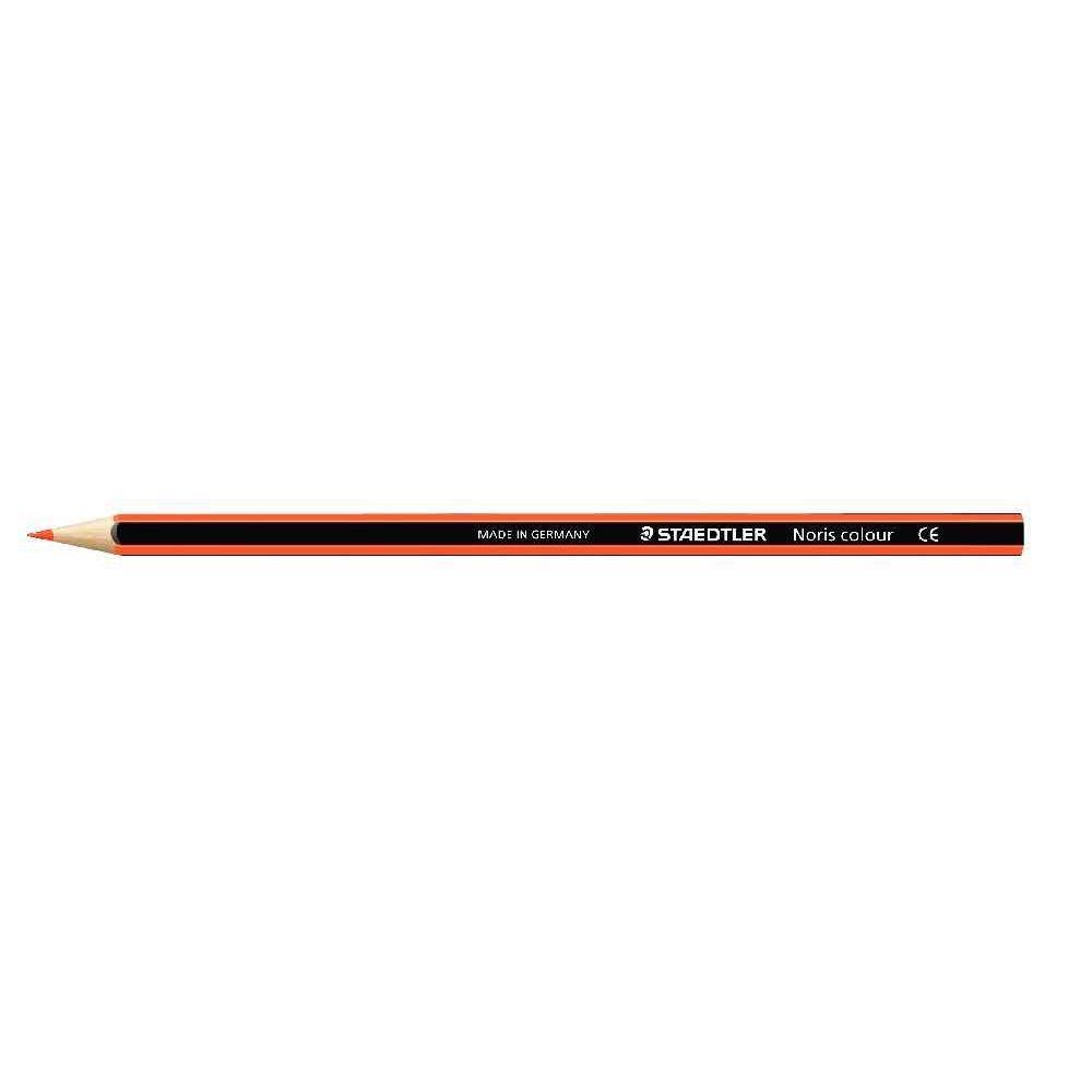 Crayons de couleur NORIS Colour orange - Etui de 12