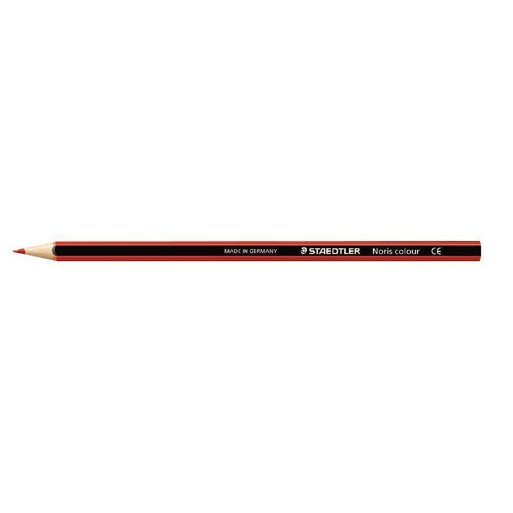 Crayons de couleur NORIS Colour rouge - Etui de 12