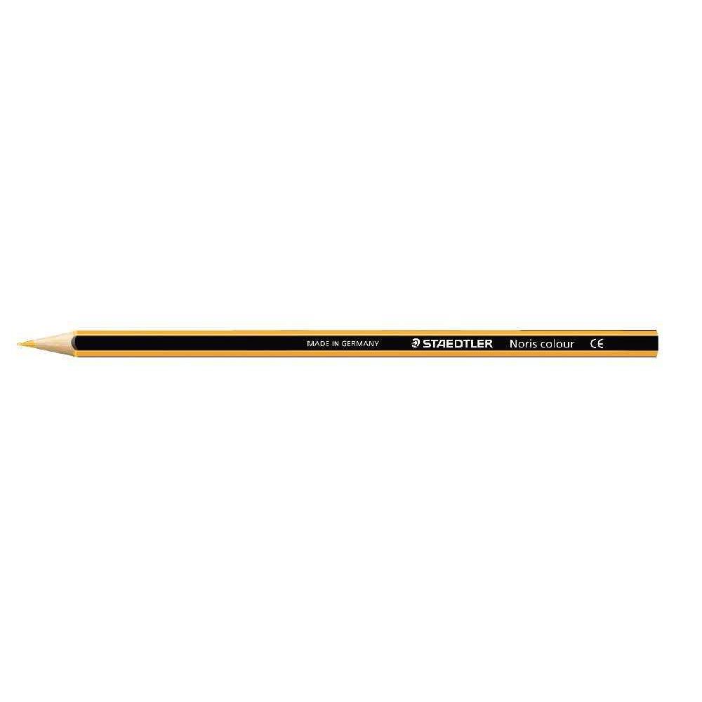 Crayons de couleur NORIS Colour jaune - Etui de 12