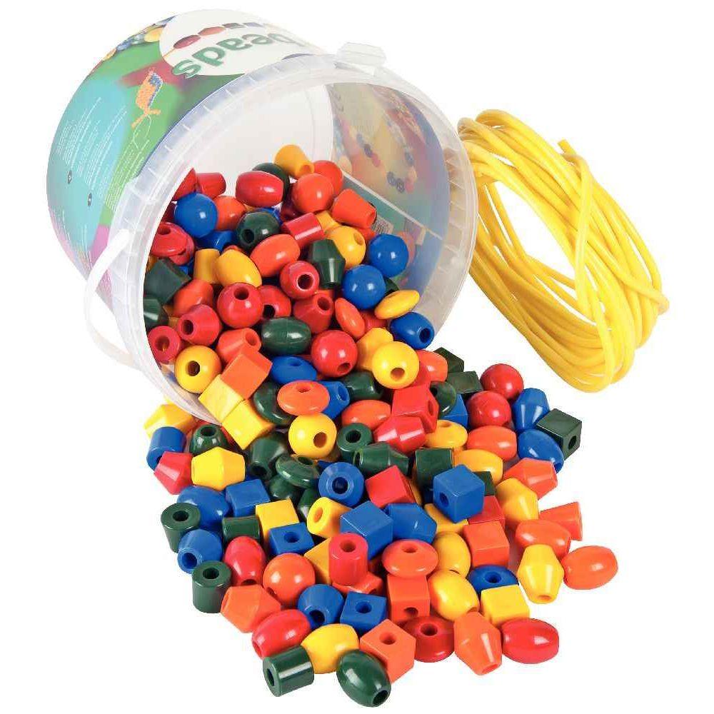 perles en plastique 7 formes et 5 couleurs seau de 245 jeux de tri sur planet eveil. Black Bedroom Furniture Sets. Home Design Ideas