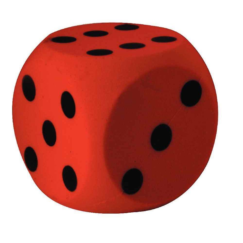 Balle soft mousse dés - 155x155 mm