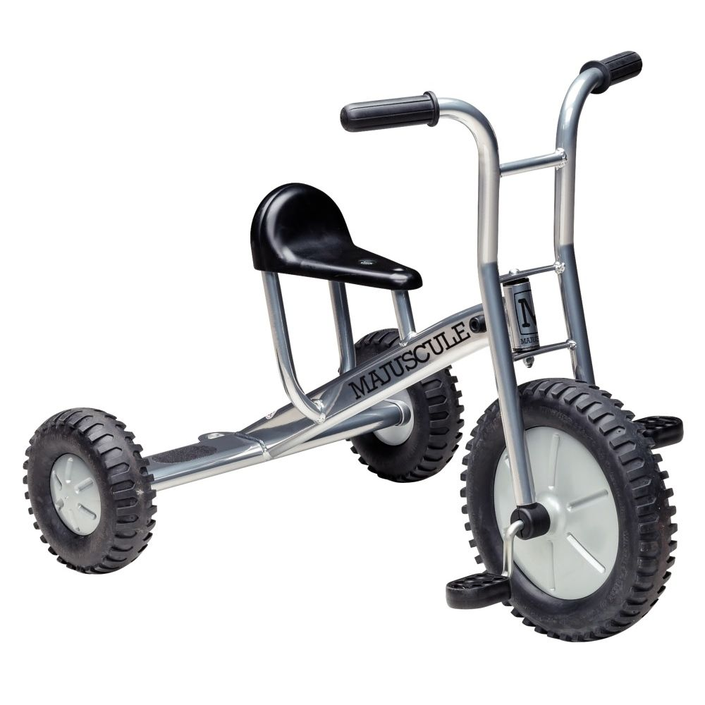Tricycle grand modèle 4/8 ans silver