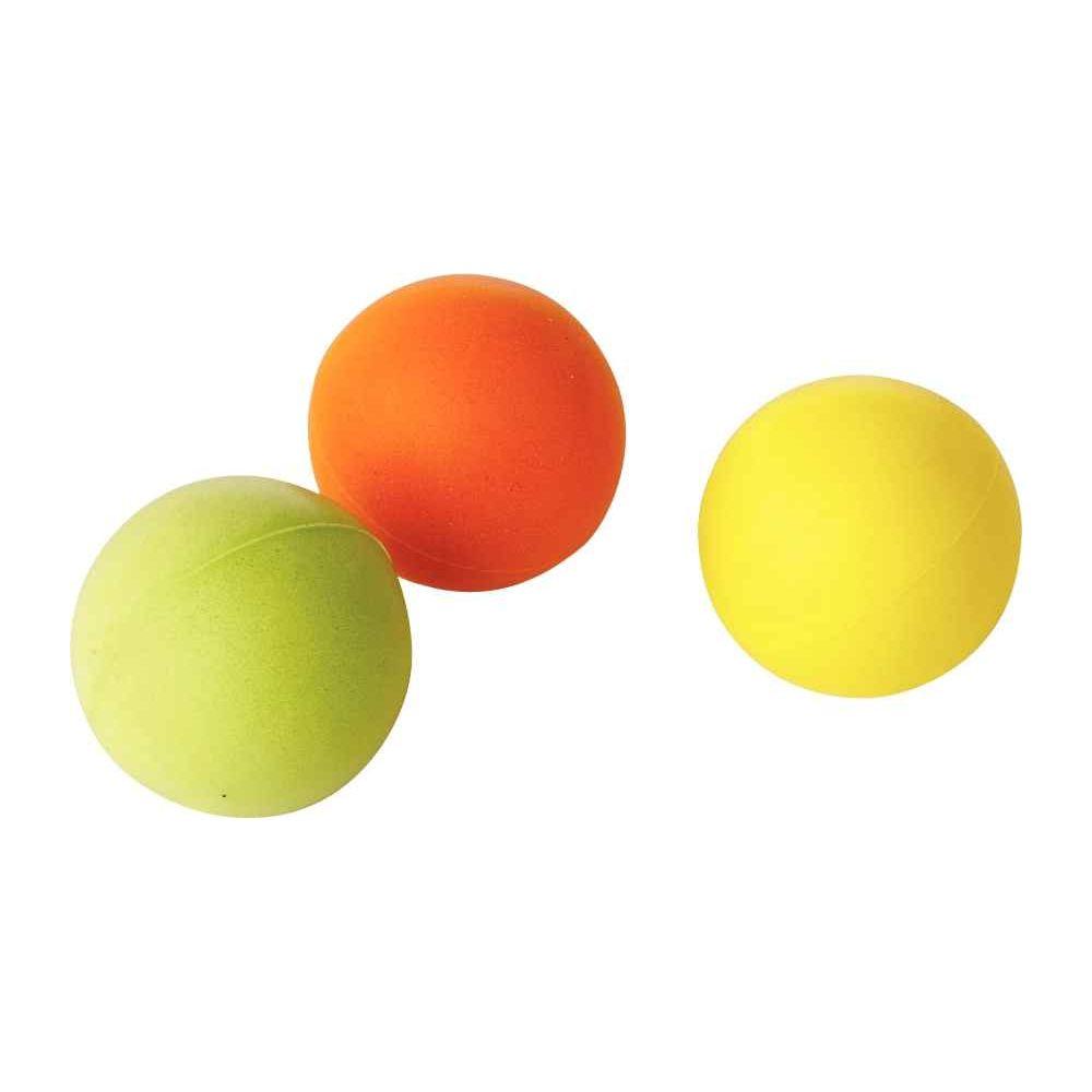 Balles en mousse diamètre 4cm - Lot de 10