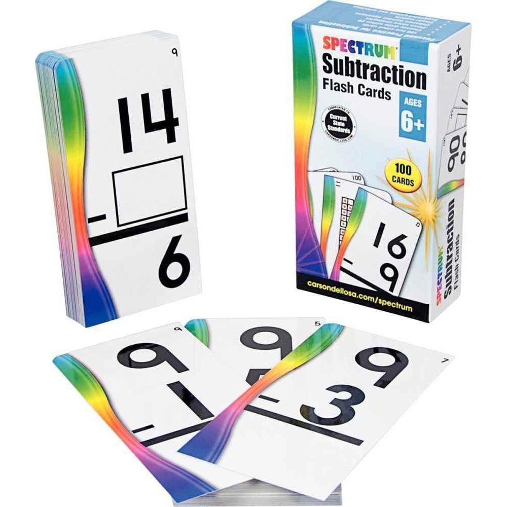 Carte soustraction - Paquet de 100