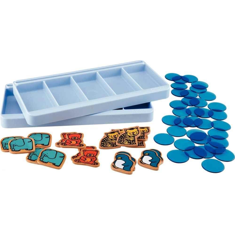 Extension pour 2 enfants pour l'atelier boîtes à compter NIVEAU 1 (32438)