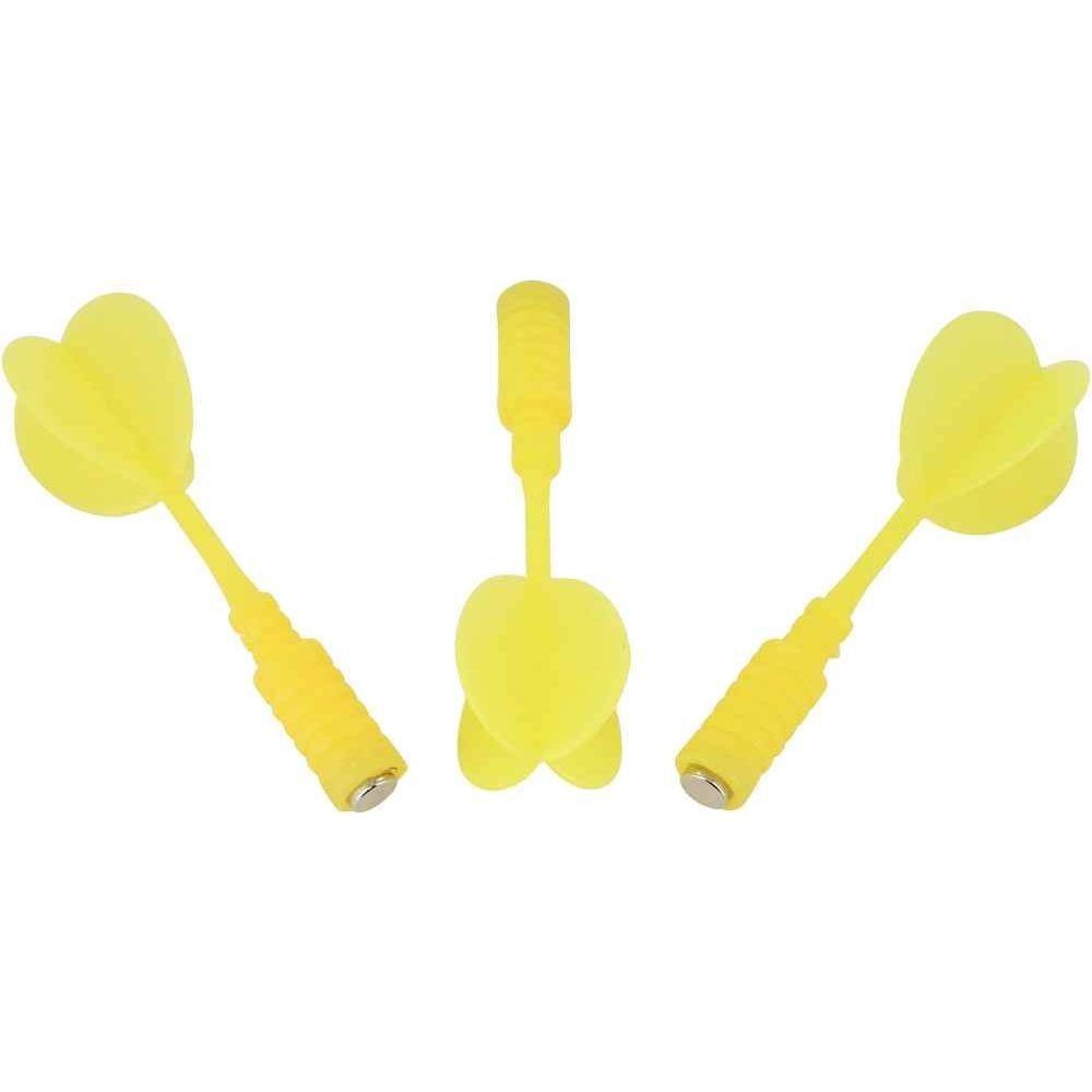 Fléchette magnétique jaune pour le code 32451 - Blister de 3